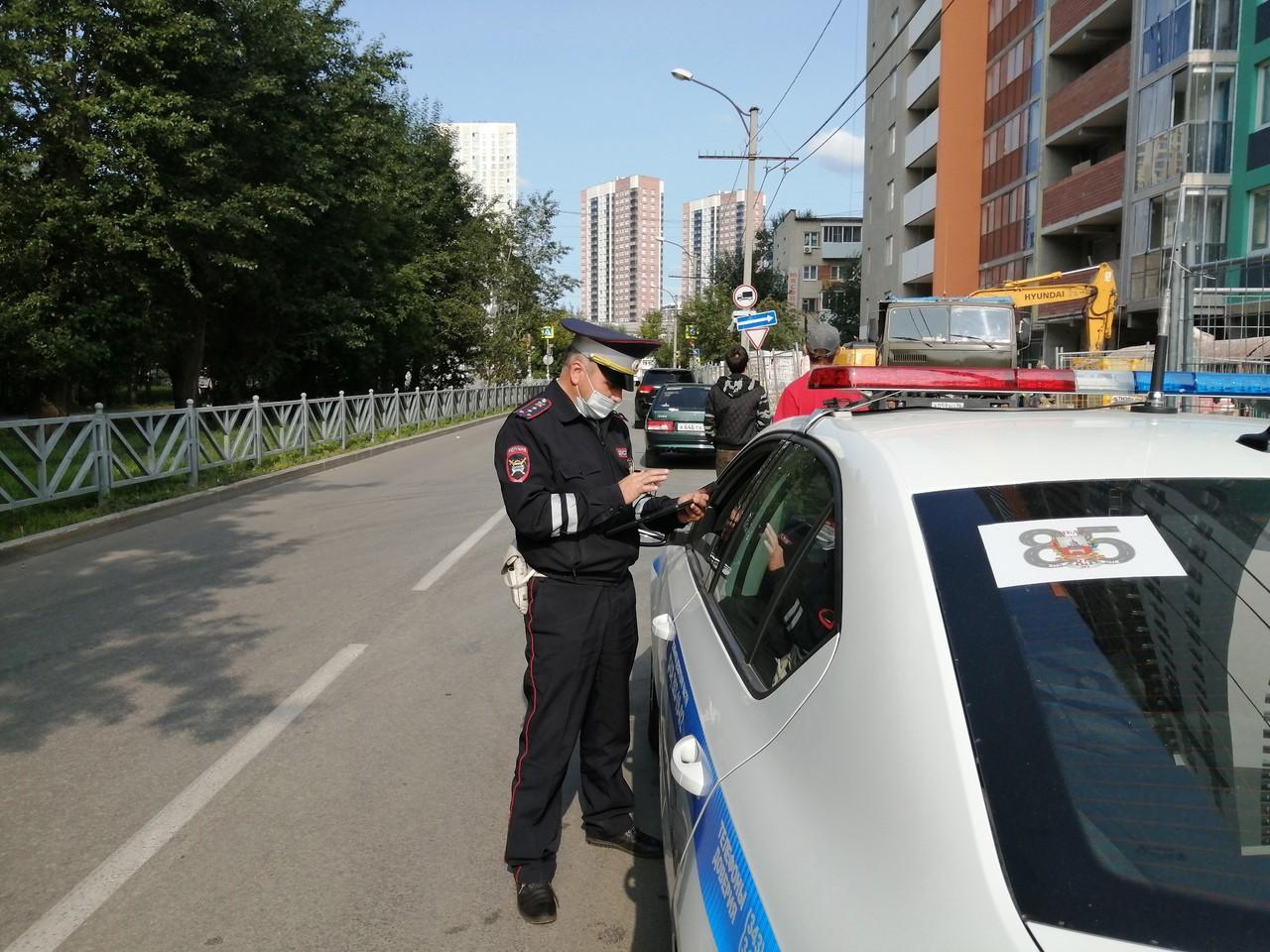 Госавтоинспекция Екатеринбурге на выходных проверит водителей на соблюдение ПДД
