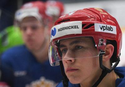 Российский хоккеист «Коламбуса» сделал хет-трик в матче с «Детройтом» :: Хоккей :: РБК Спорт