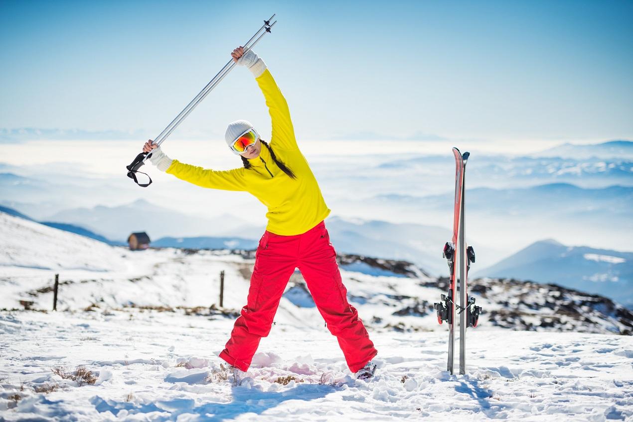 Как должна выглядеть хорошая разминка на лыжах?